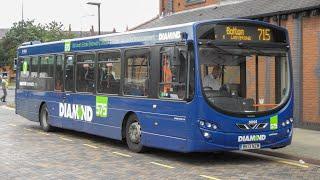 Diamond Bus North West Wright Eclipse Urban 2 Volvo B7RLE 30936 BK13 NZM