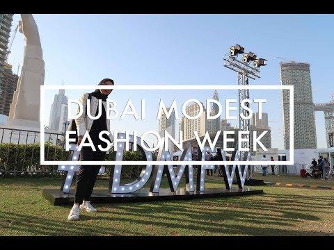 Dubai Modest Fashion Week 2017 | Videonya Gita eps. 106