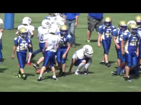 Martin 6th Grade Football vs. Huntington - Sep. 12, 2015