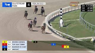Vidéo de la course PMU ALLOWANCE OPTIONAL CLAIMING 1700M