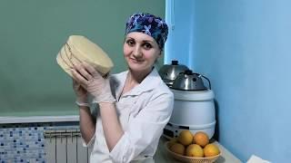 Сыр Чеддер Сыр в бандаже Полный и подробный рецепт сыра Чеддер Сыры Ольги Елисеевой