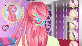 Видео, как делать прически для девочек