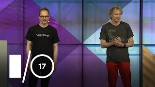 بناء تطبيقات مخصصة قوية سريعة مع صانع التطبيق على ز جناح (Google I/O '17)