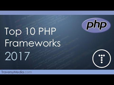 Top 10 PHP Frameworks 2017