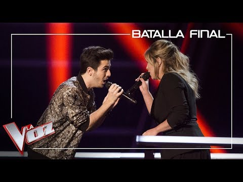 Javier Erro y Apryl cantan 'Another love' | Batalla final | La Voz Antena 3 2019