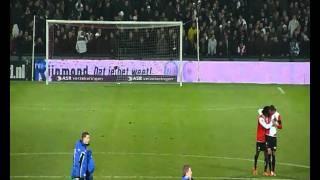 Feyenoord - De Graafschap na afloop (22-01-2011)