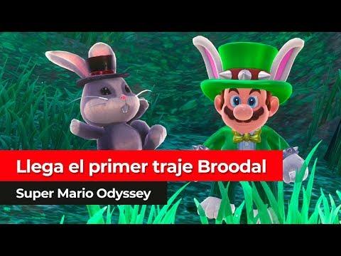 ¡El traje del Broodal Topper llega a las tiendas!   Super Mario Odyssey para Nintendo Switch