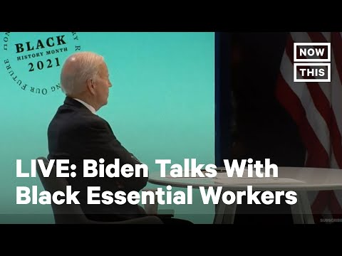 Joe Biden Joins Roundtable With Black Essential Workers | LIVE