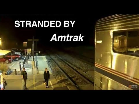 Amtrak Conductor Leaves Woman Passenger Behind