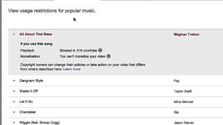 How To Use Popular Music On Youtube With Ad Supported Music