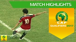Tanzania vs Egypt   Africa Cup of Nations Qualifiers 2017