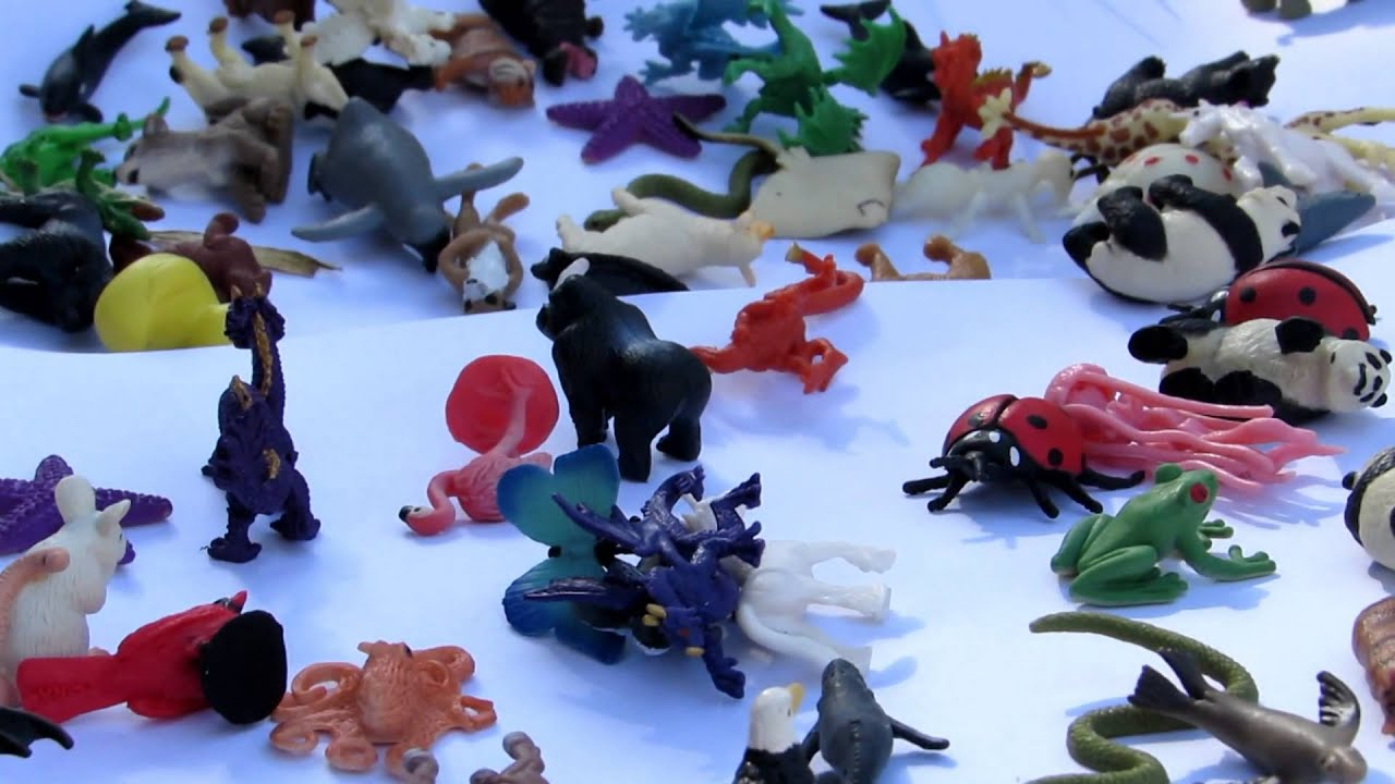 all my kids toys SAFARI LTD Mini Animal Figures Good Luck Minis