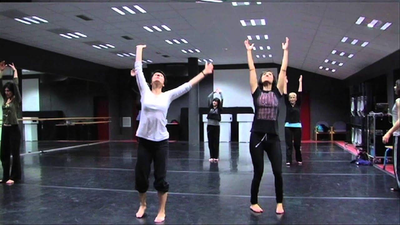 Atelier danse - Michèle Noiret - Théâtre Louis Aragon, Tremblay-en-France