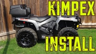 2015 Can-Am Outlander XT 1000 Trail Build -   Kimpex ATV Accessories Install