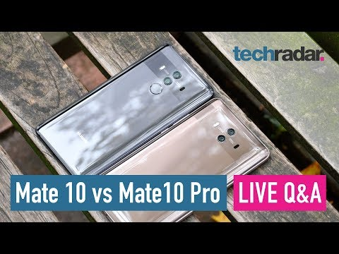 Download Youtube: Huawei Mate 10 vs Mate 10 Pro - LIVE Q&A