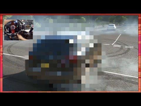 Forza Horizon 4 - Wheelspin Drift Build #2 UMM OKAYY?? LOL (Fanatec Wheel)  | SLAPTrain thumbnail