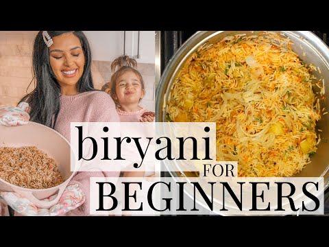 BIRYANI for BEGINNERS | EASY Eid Chicken Biryani Recipe | irenesarah