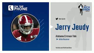 Alabama WR Jerry Jeudy Wears a Star of David and Rich Eisen Approves | 4/1/20