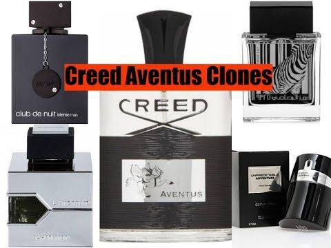 My Top 10 Creed Aventus Clones