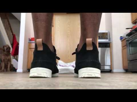 Clark Trigenic Flex- Black Nubuck - YouTube