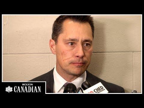 Oct 14: Sens vs. Oilers - Boucher Post-game