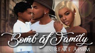 Die Sims 4 | Create A Sim | Bombe AF-Familie!