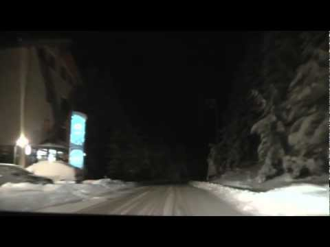 Winter in Romania, by night * Poiana Brasov - Rasnov - Predeal - Sinaia * 2008.11.23