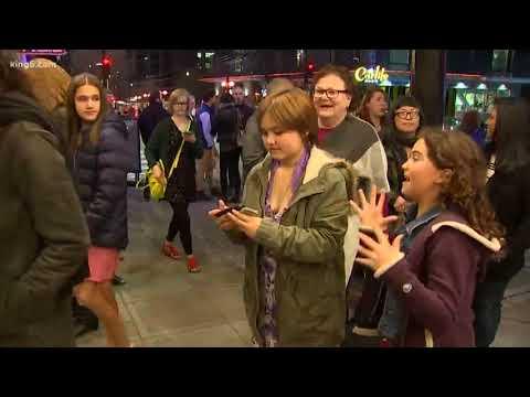 Hamilton hysteria takes over Seattle
