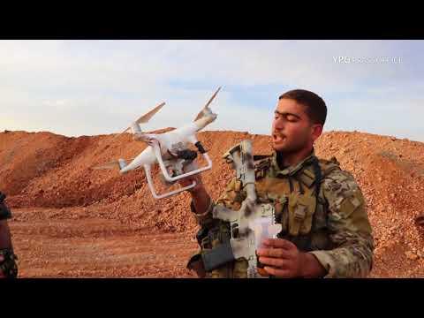 Drone'a bombebarkirî ya artêşa Tirk hate xistin