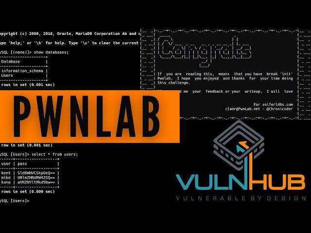 PwnLab VulnHub Walkthrough - Boot-To-Root