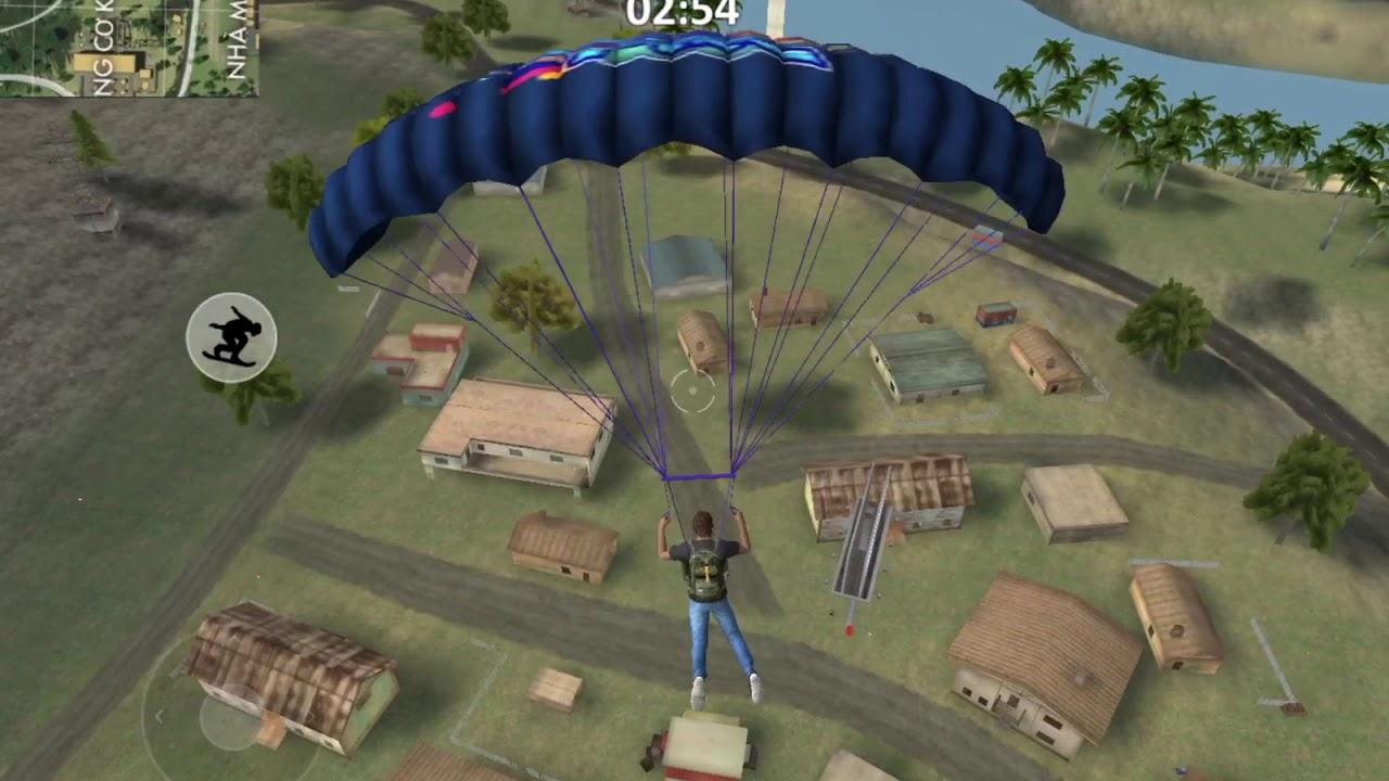 game bắn súng nhảy dù lần đầu chơi game