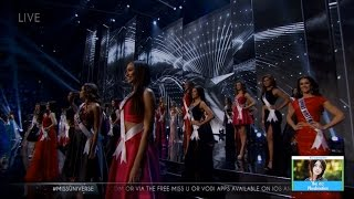 Miss Universe Final 13 Contestants Revealed | LIVE 1-29-17