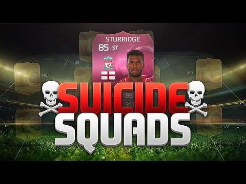 FIFA 15 SUICIDE SQUADS!!! PINK STURRIDGE!!! FIFA 15 Hybrid Squad Builder Challenge
