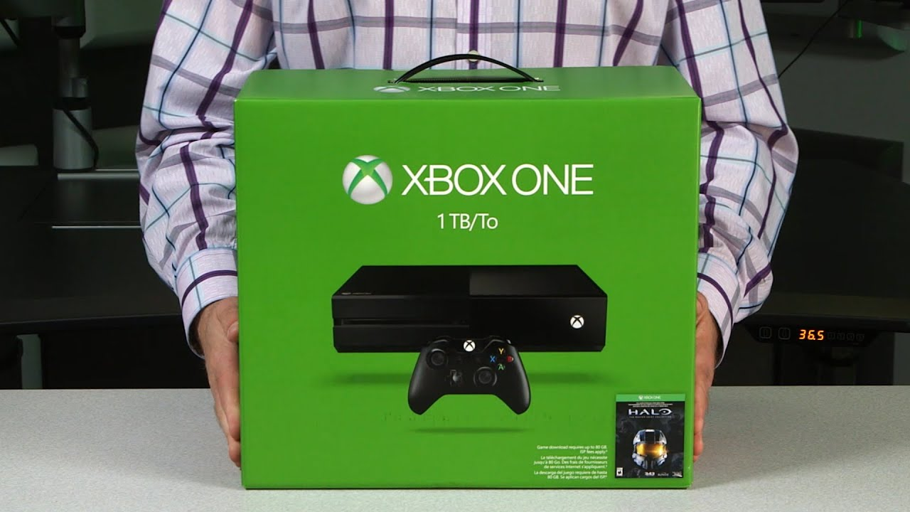 Xbox One 1TB Console with New Xbox One Wireless Controller ...