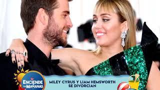 Miley Cyrus se divorcia de Liam Hemsworth