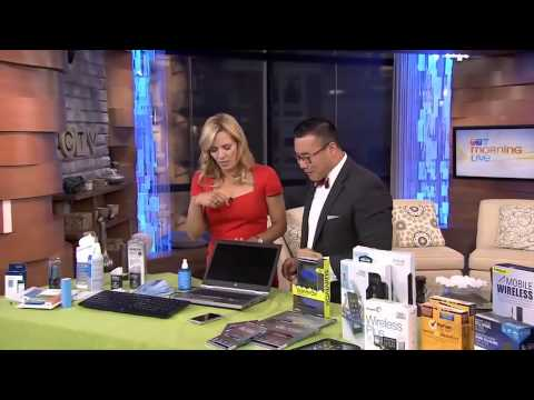 How to clean your gadgets on CTV Morning Live Vancouver