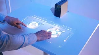 Sony Xperia Plus turns any surface into a touchscreen | CNBC International