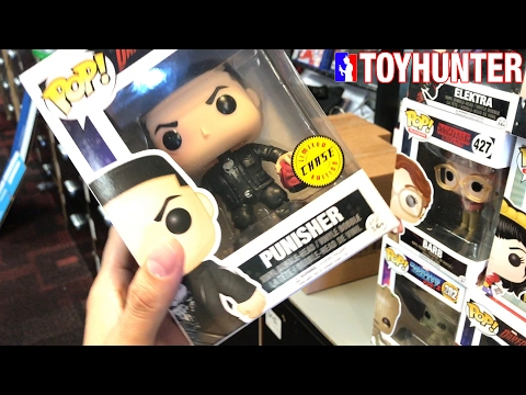 Toy Hunting for Red & Yellow Ranger Metallic Funko Dorbz