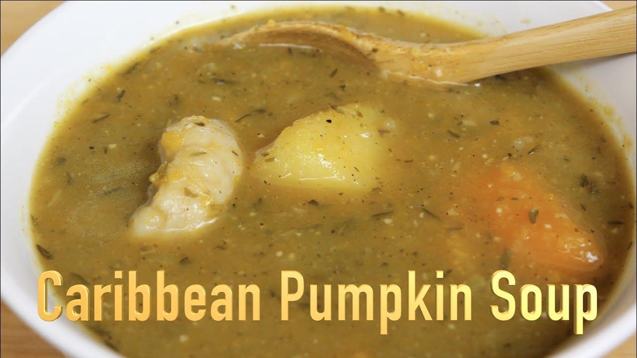 Caribbean pumpkin soup youtube caribbean pumpkin soup forumfinder Images