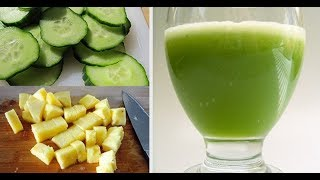 Homemade Drink to Burn Fat Fast - Weight Loss For Women