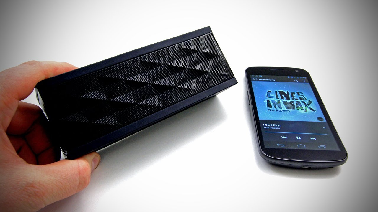 Jawbone JAMBOX Unboxing & Review