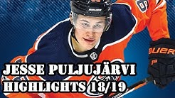 Jesse Puljujärvi | A Work in Progress | Highlights 18/19