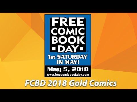 FCBD 2018 Gold Comics Announced
