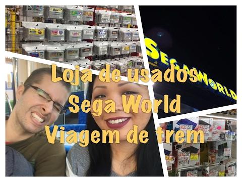 Visitando uma grande loja de usados (mtas coisas Nerds!) | Sega World