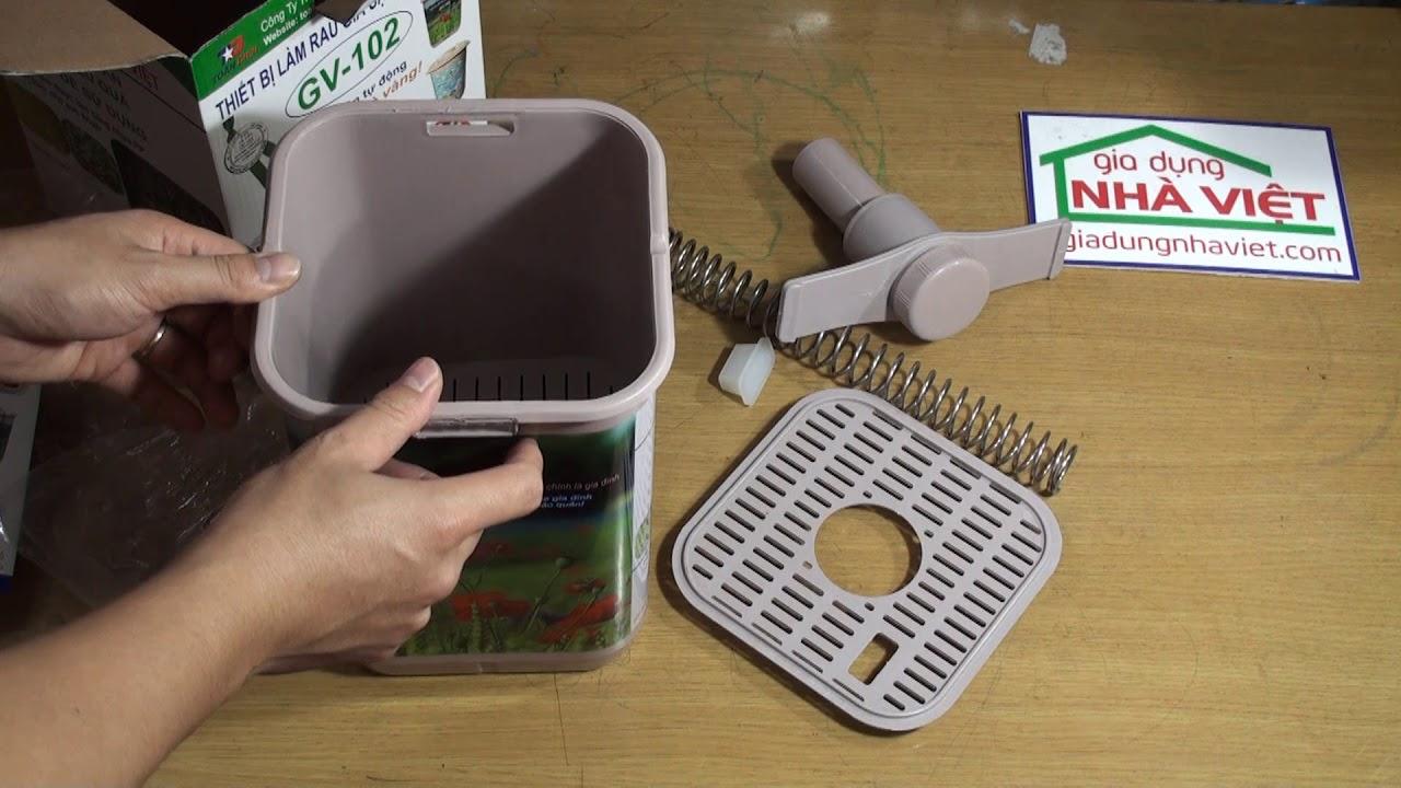 ✆ 082.7788333 – Cách sử dụng máy làm rau giá sạch đa năng