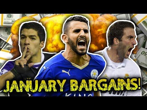 10 Greatest January Signings | Luis Suarez, Higuain & Thiago Silva!