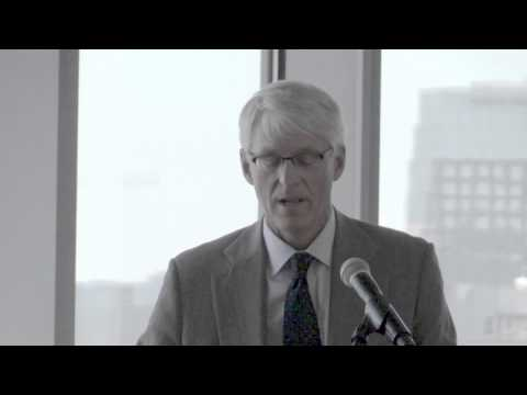 Peter Lehner, CEO of NRDC, at Mayor Dyer's Climate & Energy Summit 2014