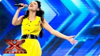 Zoe Devlin sings at the Arena -- Arena Auditions Week 4 -- The X Factor 2013