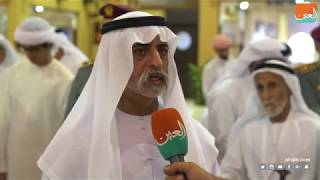 نهيان بن مبارك آل نهيان يشيد بتميز الإمارات في زراعة النخيل