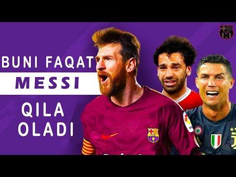 Mana nima uchun Messi dunyoning eng yaxshi o`yinchisi